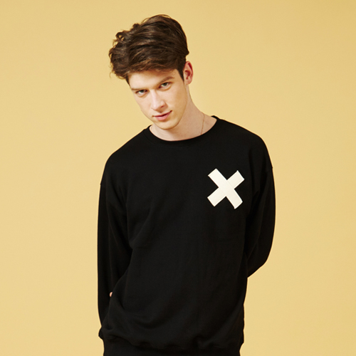 [Sold out] Webbing Sweatshirt (Black)