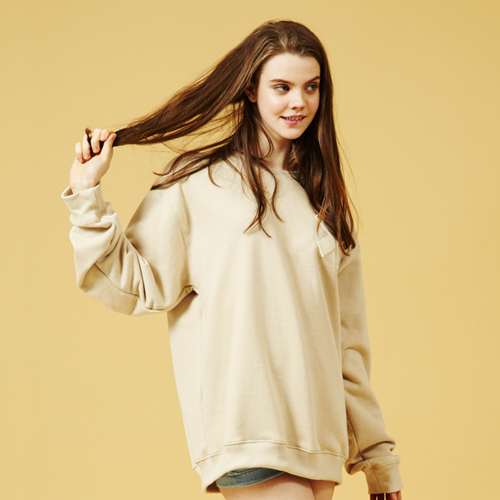 [Sold out] Webbing Sweatshirt (Beige)