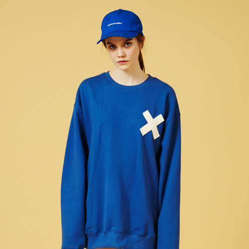 [Sold out] Webbing Sweatshirt (Blue)