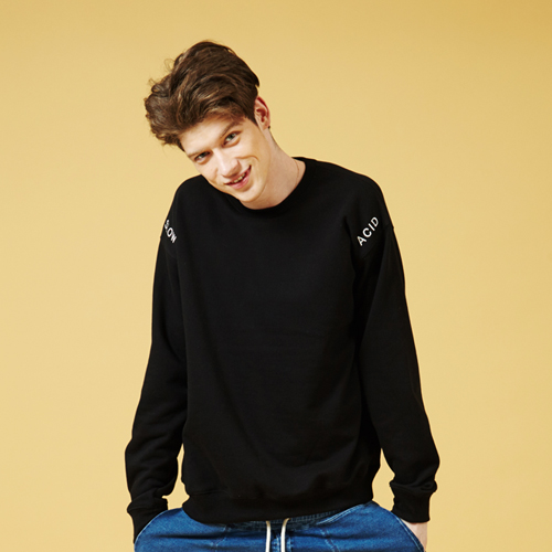[Sold out]Basic X Sweatshirt (Black)