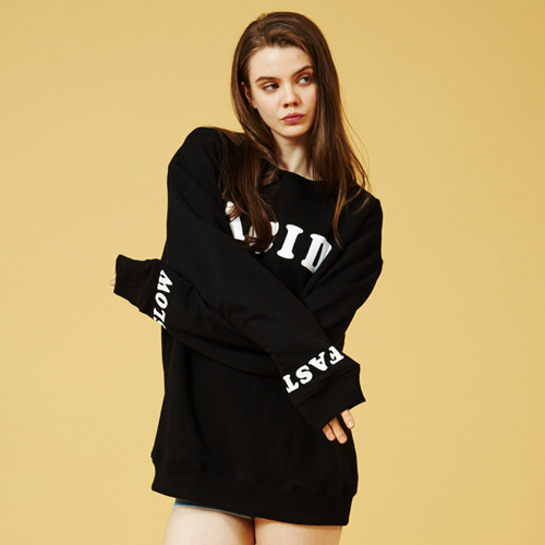 [Sold out]Acid Sweatshirt (Black)