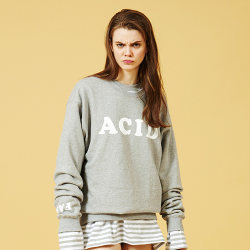 [Sold out]Acid Sweatshirt (Gray)