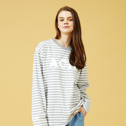 [Sold out]Acid Stripe Long Sleeve T-shirt