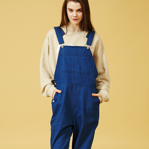 [Sold out] Over size Overall (Blue)