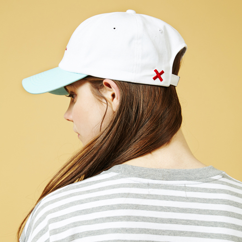 [Sold out] X Cap (White)