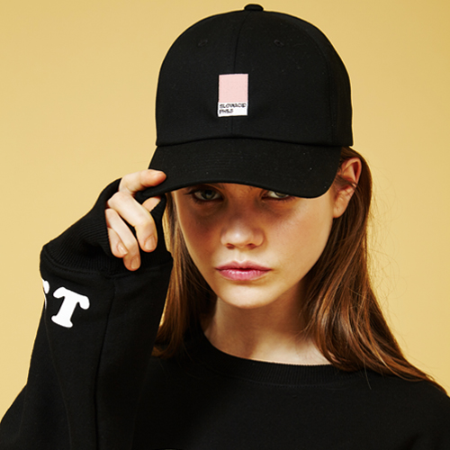 [Sold out] Colorchip Cap (Black)