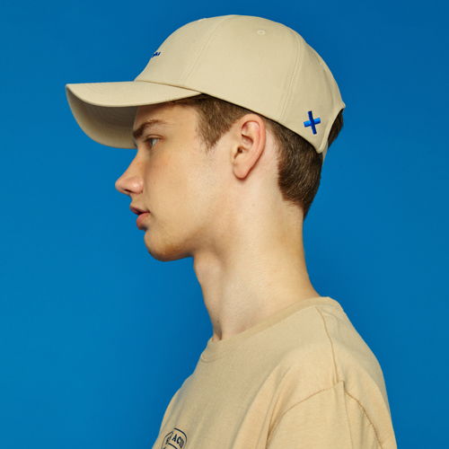 [Sold out] X Cap (beige)