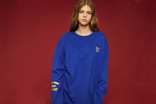 [Sold out] Jackpot sweatshirt (blue)