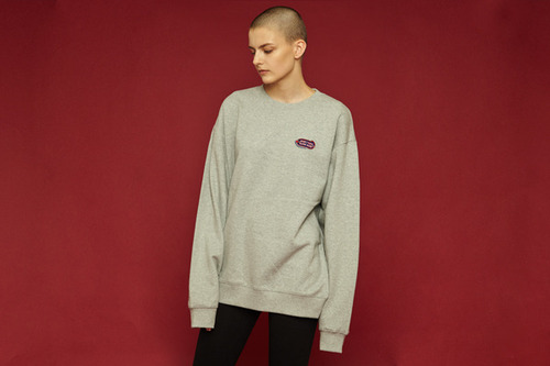 [Sold out] Garage sweatshirt (gray)