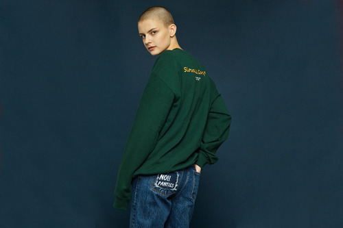 [Sold out] Garage sweatshirt (green)
