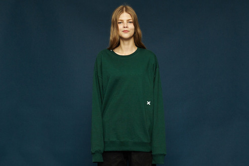 [Sold out] Signature sweatshirt (green)