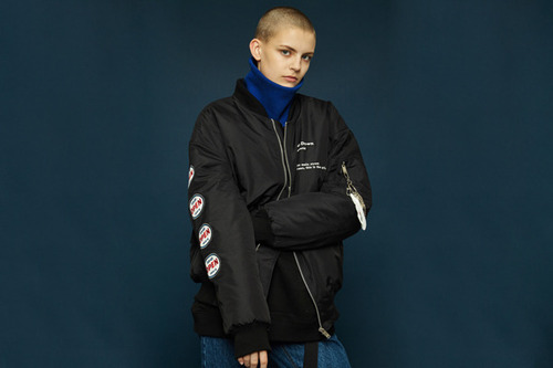 [30%off]Oversized ma-1 jacket (black)