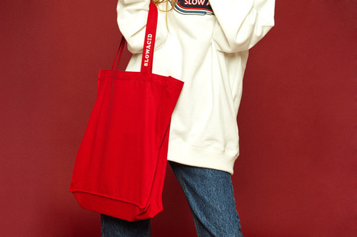 [Sold out] Daily color bag (red)