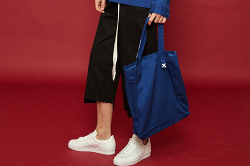 [Sold out] Daily color bag (blue)