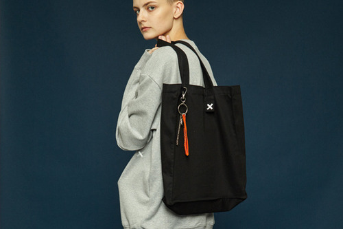 [Sold out] Daily color bag (black)