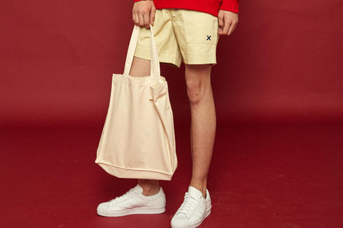 [Sold out] Daily color bag (ivory)