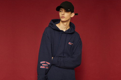 [Sold out] Welcome hoodie (navy)