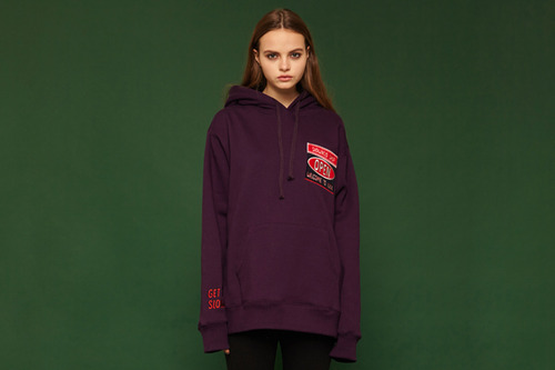 [Sold out] Open hoodie (purple)