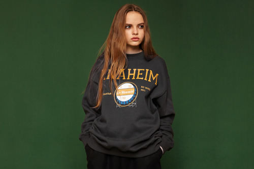 [Sold out] Anaheim sweatshirt (charcoal)