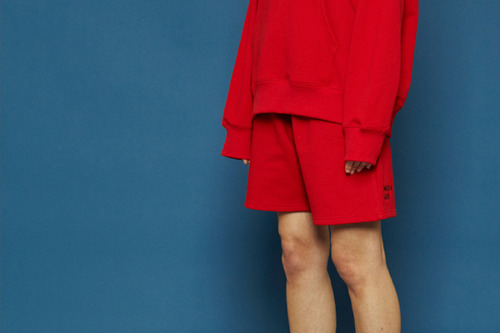 [Sold out] Trailer half pants (red)