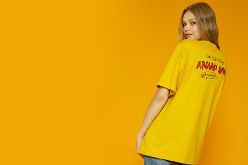 [Sold out] Villiage short-t (yellow)