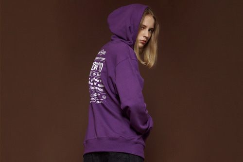 [Sold out] Wishlist hoodie (violet)