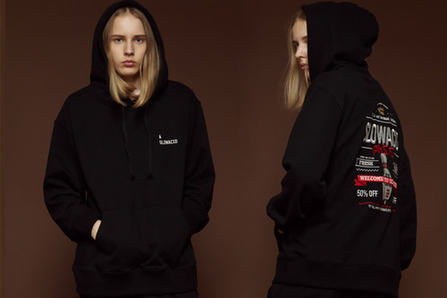 [Sold out] Bowlingpins sign hoodie (black)