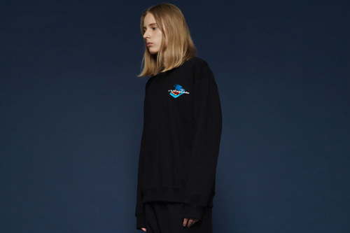 [Sold out] Canned sweatshirt (black)