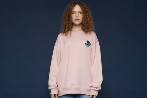 [Sold out] Canned sweatshirt (pink)