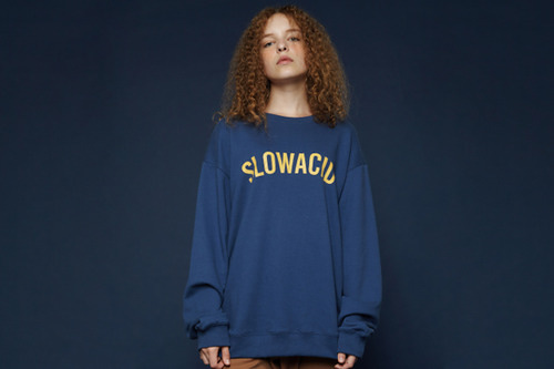 [Sold out] Arc logo sweatshirt (blue)