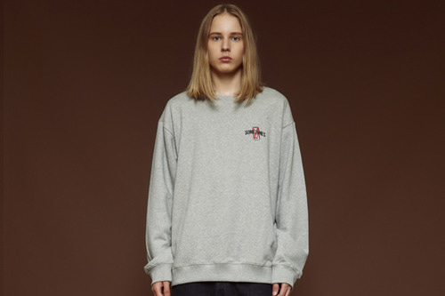 [Sold out] Cola sweatshirt (grey)