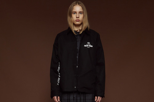 [Sold out] Low calories coach jacket (black)