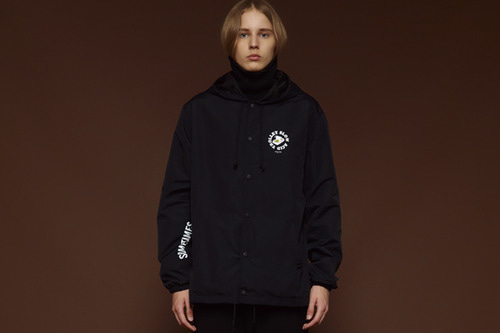 [Sold out] Hood coach jacket (black)