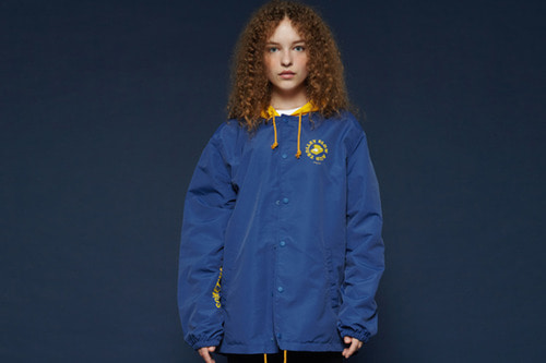[Sold out] Hood coach jacket (blue)