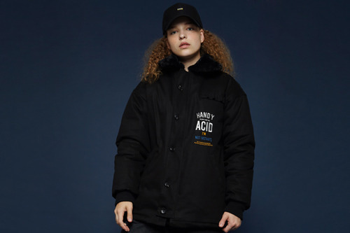 [Sold out] 17FW Deck jacket (black)
