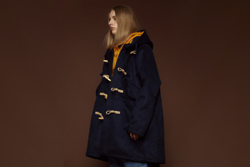 [Sold out] 17FW Wool duffle coat (navy)