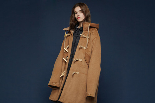 [Sold out] 17FW Wool duffle coat (beige)
