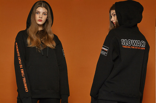 [Sold out] Outline Logo Hoodie (black)