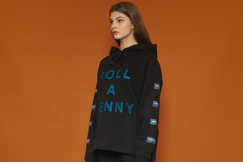 [Sold out] Rollapenny Hoodie (black)