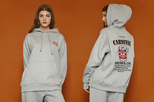 [Sold out] Carnival Hoodie (gray)