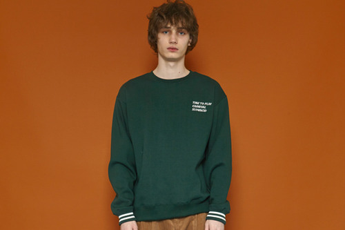 [Sold out] Wrist Line Sweatshirt (green)