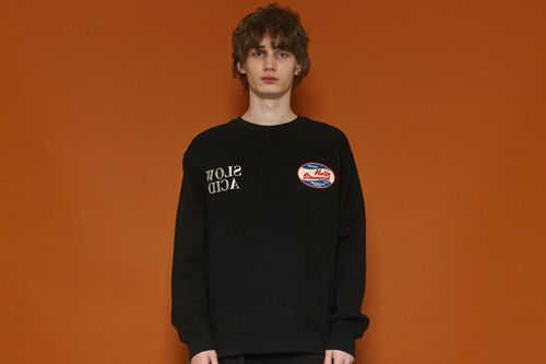 [Sold out] Reflection Logo Sweatshirt (black)