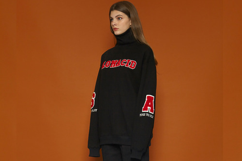 [Sold out] SA Turtleneck Sweatshirt (black)