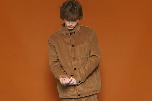 [Sold out] Corduroy Jacket (brown)
