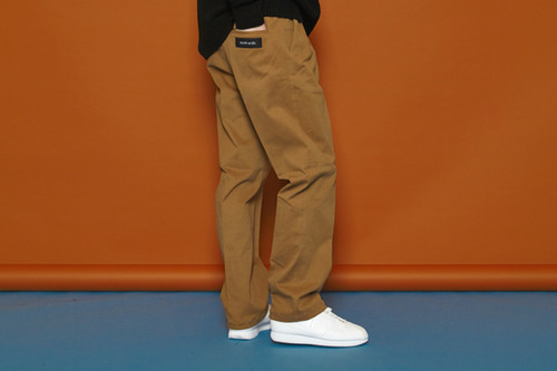 [Sold out] Span Cotton Pants (brown)
