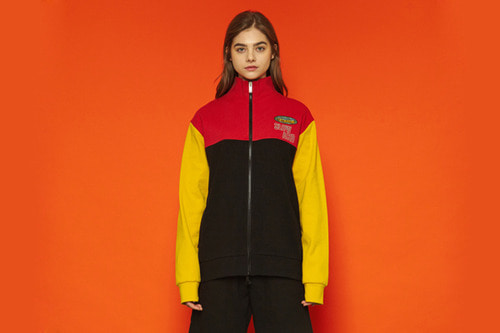[unisex] 18ss Logo Tracktop (red/yellow)