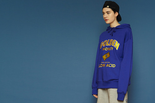 [Sold out] Goldenmoney Hoodie (blue)
