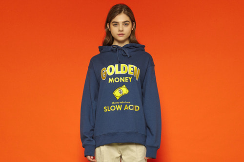 [Sold out] Goldenmoney Hoodie (navy)
