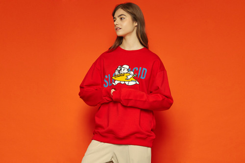 [Soldout] Moneyman Sweatshirt (red)
