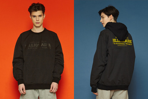 [unisex] Billionaire Sweatshirt (black)